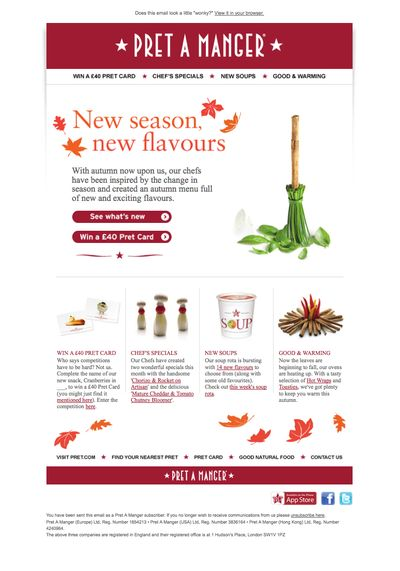 Pret email